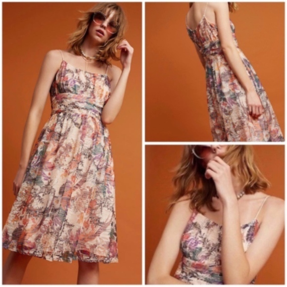 Anthropologie Dresses & Skirts - NWT ~ MAEVE Sz 10 Mackenzie Floral Dress PARTY